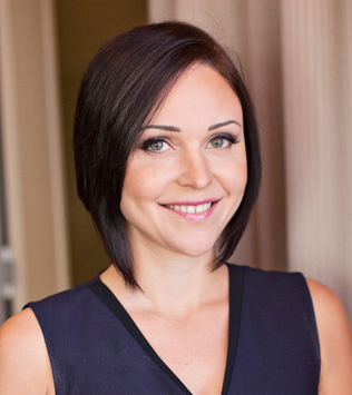 Owner Operator of beauty salon Perth Erica Mayr